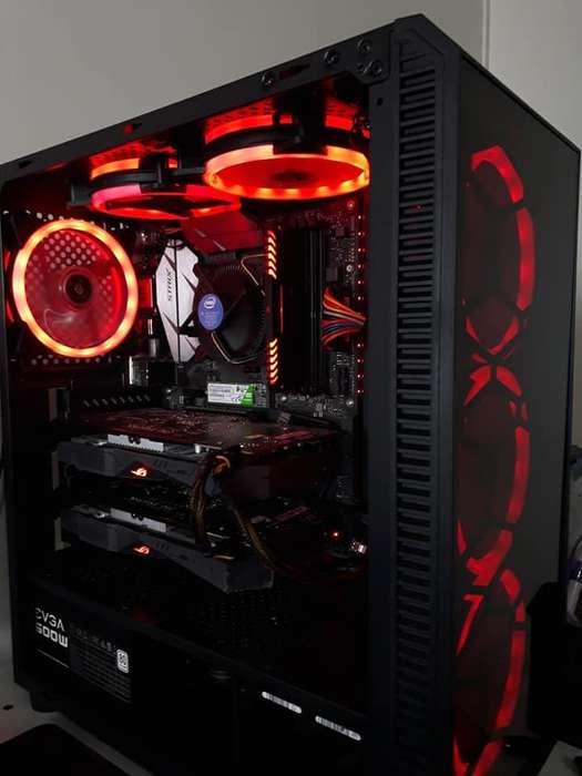 Pc Gamer Intel I5 7400 Crossfire Rx 570 Asus Strix Ssd 120gb