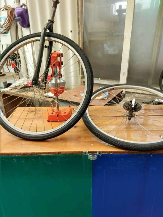 Llantas de Bicicleta Rin 26 con Tenedor