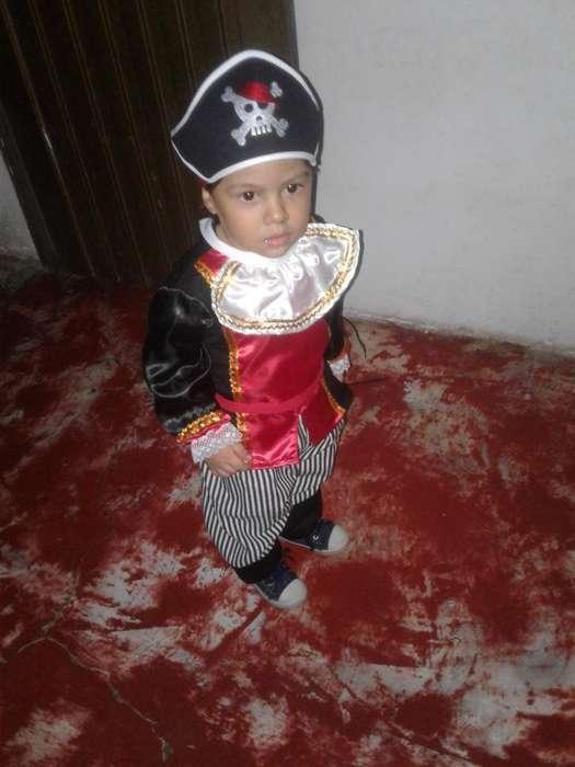 Disfraz de Pirata Fantastic Night 24-36
