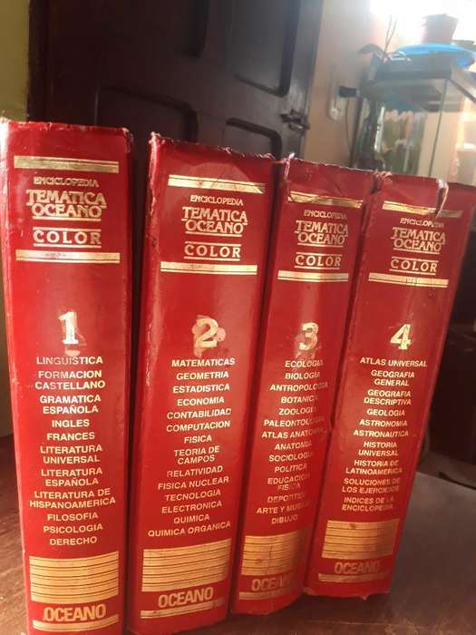 Enciclopedia Tematica Oceano Ed 1995