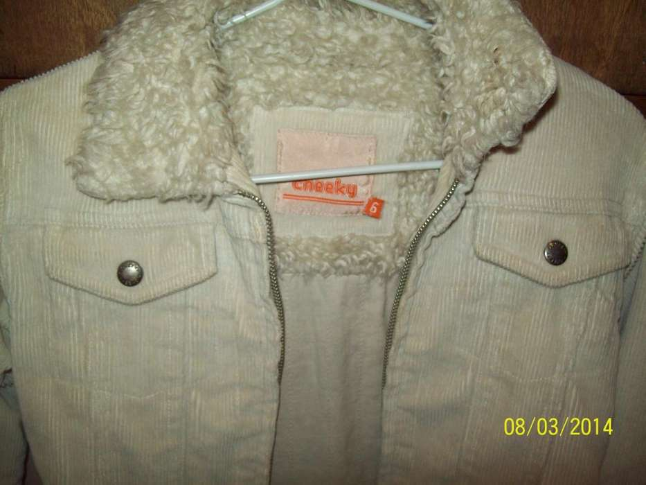 Campera <strong>cheeky</strong> Talle 6