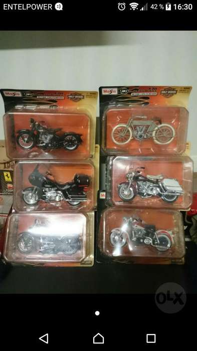 Harley Davidson Maisto Moto Motos