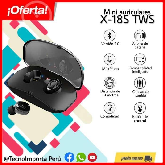 Mini Auriculares X-18s Tws