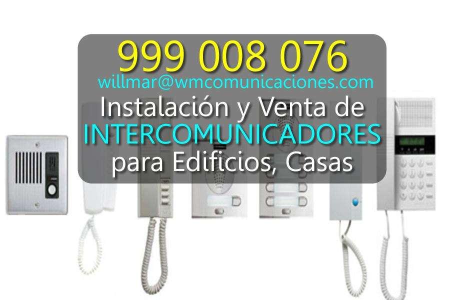Intercomunicadores para Edificios Casas
