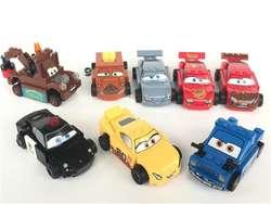 Nascar Carrera Cars Rayo Mcqueen Embarrado Barro Mini Figura Lego Regalo