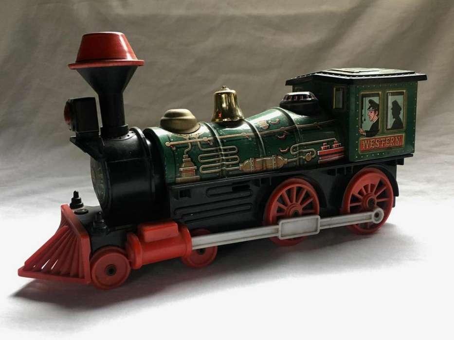 tren antiguo chapa