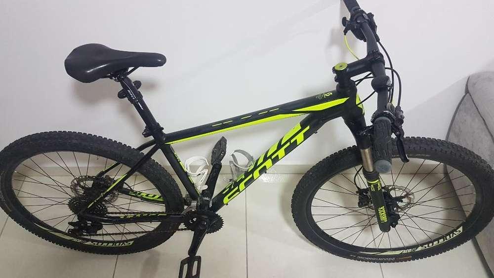 Se Vende Bici Scott Como Nueva Poco Uso