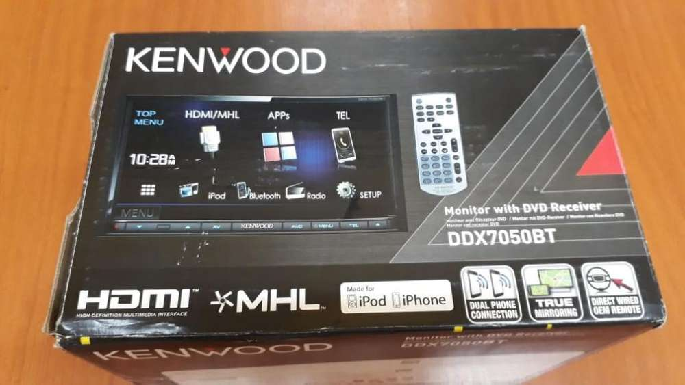 Vendo Estereo Doble Din Kenwood Wifi