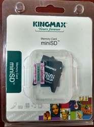 Memoria MiniSD 2GBcon adaptador.
