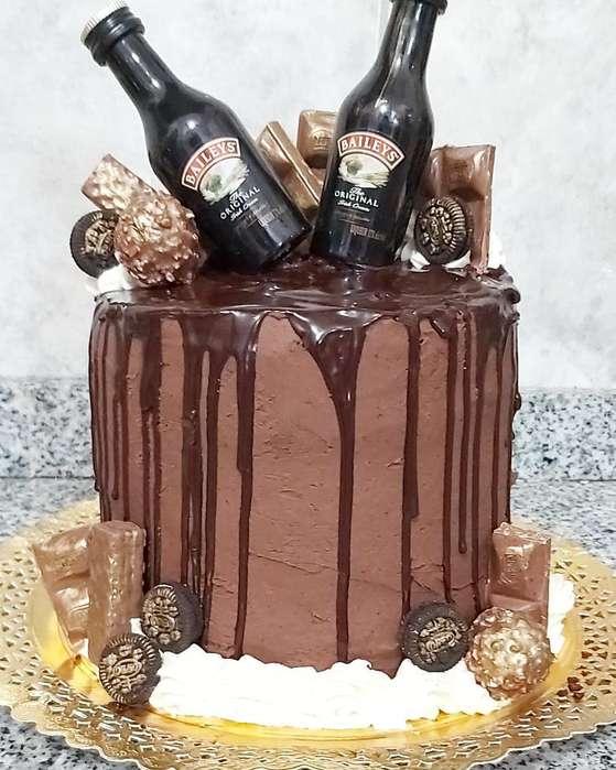 Torta Bayles para El Dia de La Mandre