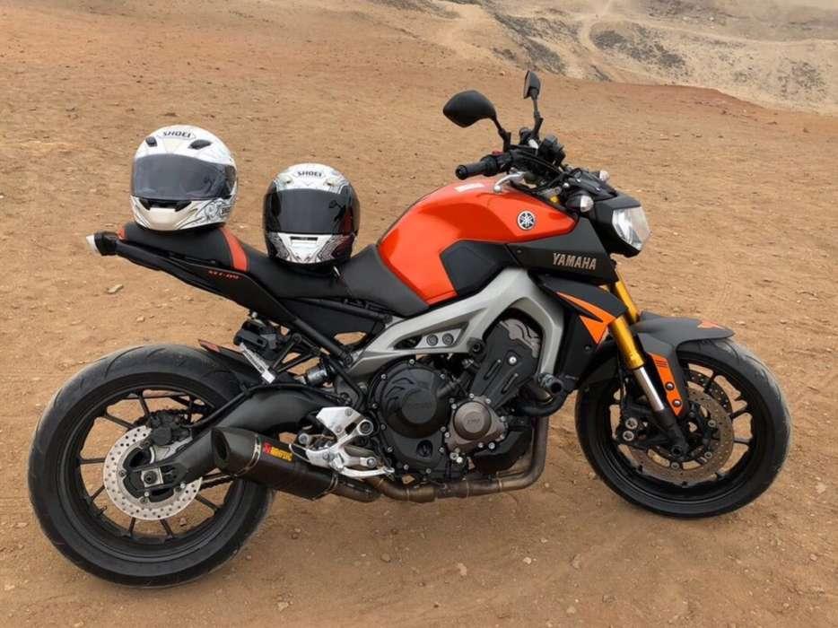 Yamaha Mt 09 2015 FULL EQUIPO...