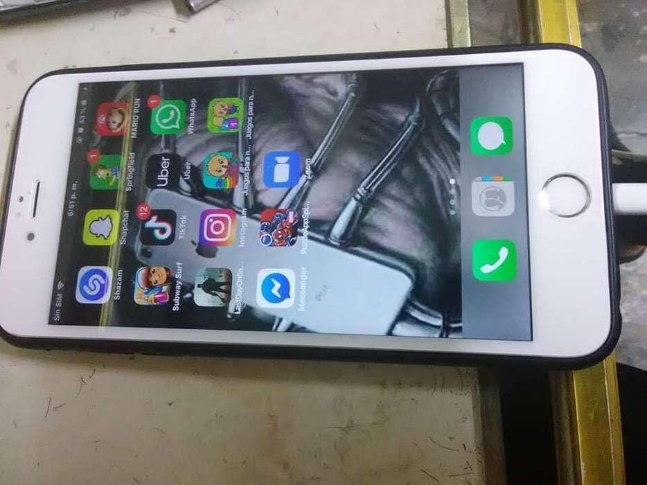 Vendo O Cambio iPhone 6 Plus Solo Redes