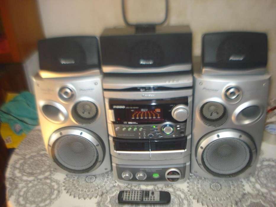 Minicomponete Pioneer A880 5 Parlantes C/ctrl Exc No Envio