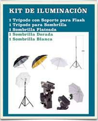 Accesorios para luces de Estudio Fotográfico
