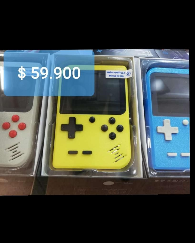 Game Boy con 400 Juegos