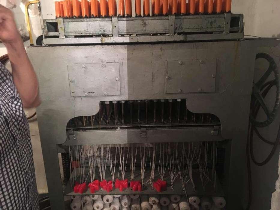 maquina para fabricacion de velas cilindricas , de 200 unidades de 2 tamaños