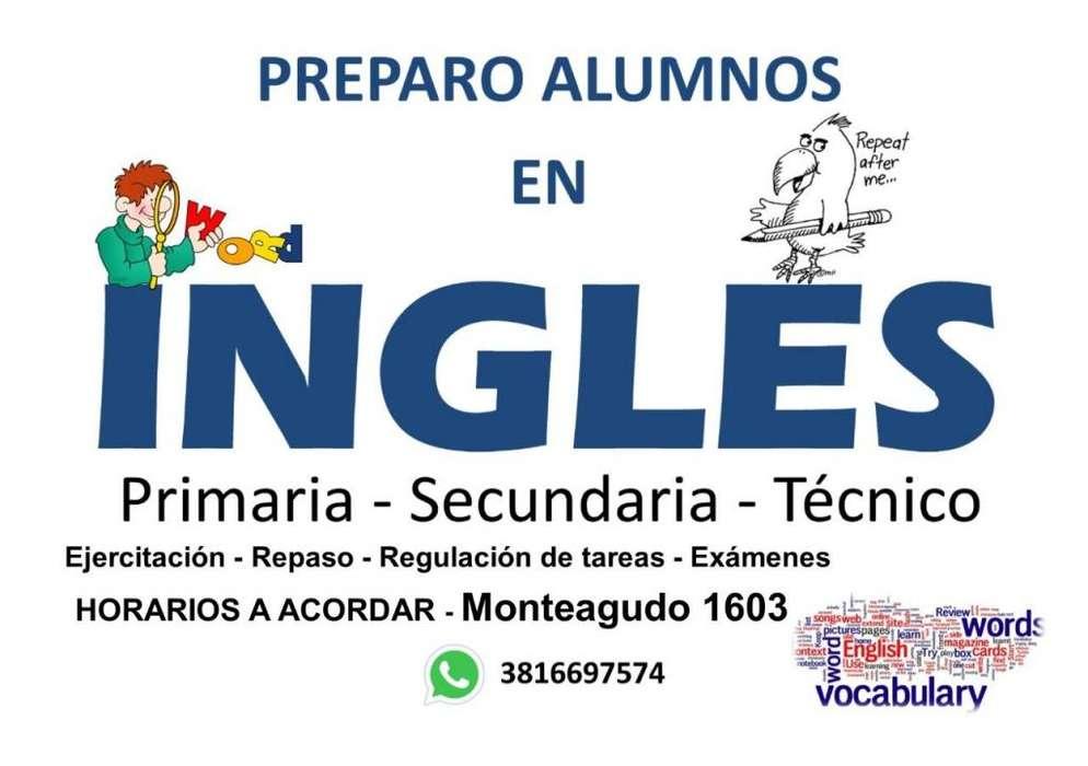 Inglés Apoyo escolar Clases particulares Primaria Secundaria Técnico
