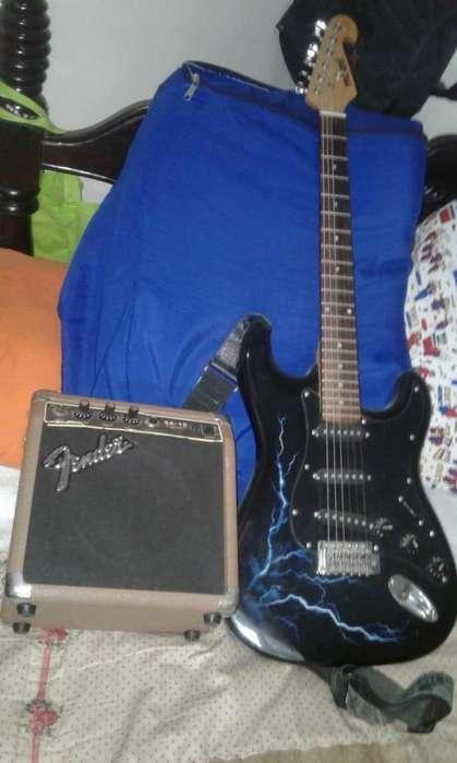guitarra eléctrica planta