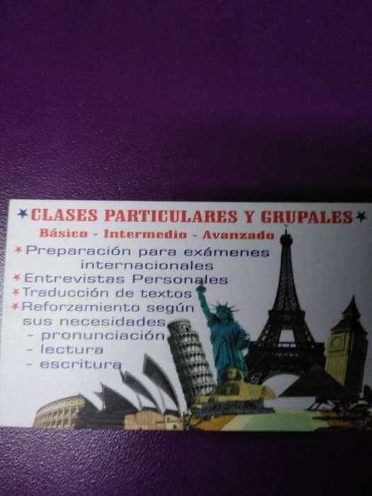 Clases Particulares Y Grupales
