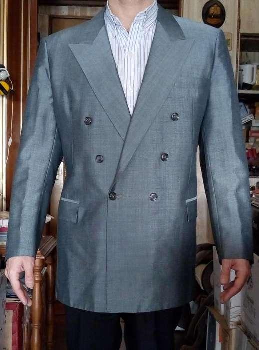 <strong>traje</strong> saco y pantalón Anglia of England talle L 52 tela espectacular