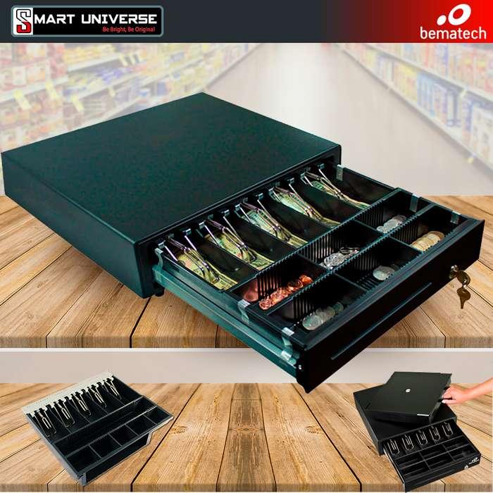 CAJA De Dinero Bematech Cd415 Metál Con Llave Negro Rj12