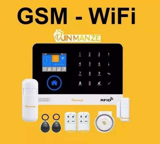 Alarma Wifi Gsm Casa Negocio Control Celular Excelente Kit