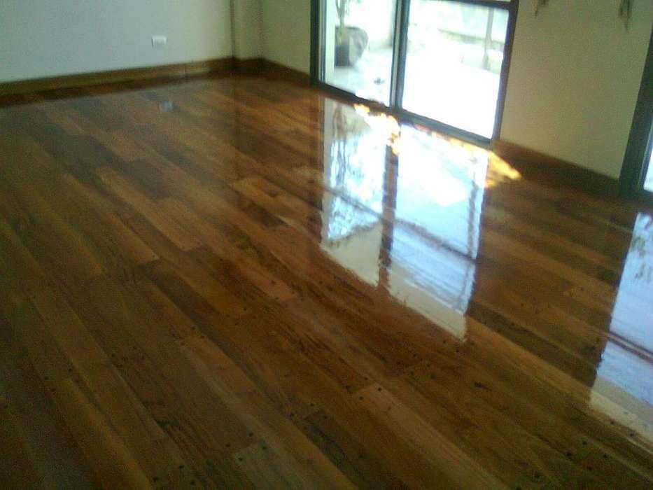 pisos de madera ..pulido plastificado hidrolaqueados ext 3415418507 segunda mano  Accesorios