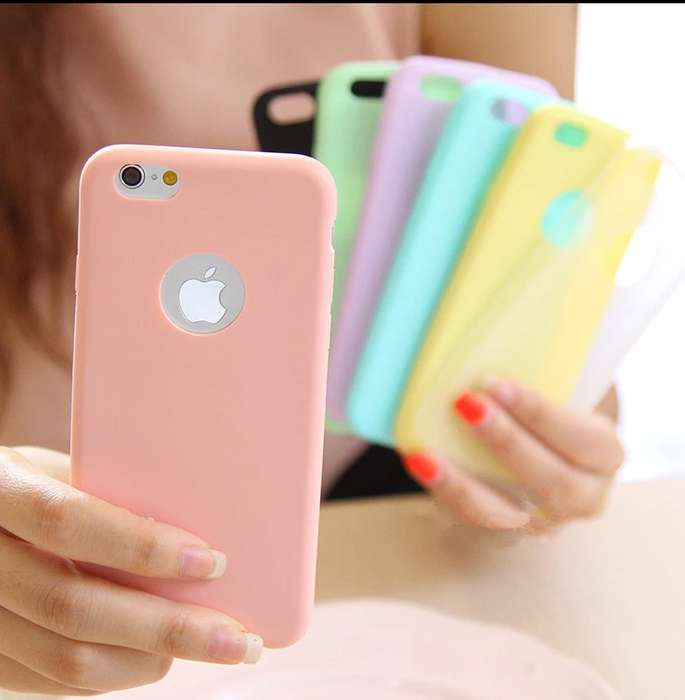Protector Silicona Soft iPhone 5, 6, 7, 8/ Plus X Xr, Xs Max