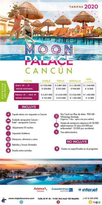 Viaje a CANCÚN con Viajes la Corona H MOON PALACE
