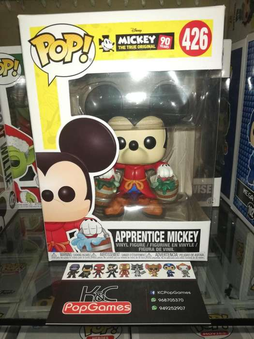 Funko Pop Mickey Mouse Aprendiz 426