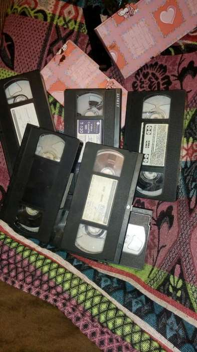 Video Casetes Vhs