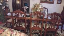 Muebles Madera Sala, Comedor y Alcoba Tapetes varios Tamaños