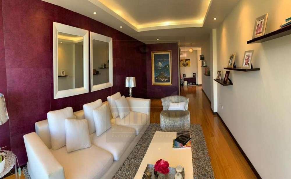 Lomas de Monteserrín, venta, departamento, 135 m2, 2 dormitorios, 2 parqueaderos, bodega