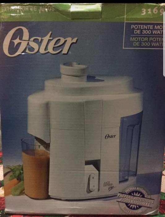 electrodomesticos Oster <strong>estractor</strong> de jugo y juego de vasos