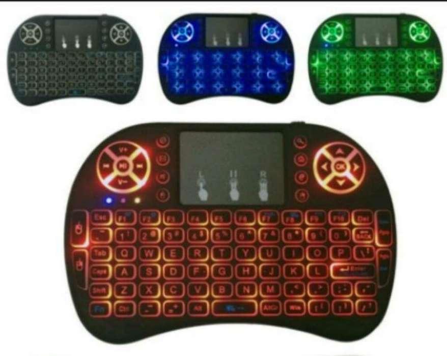 Mini teclado y maus inalámbrico