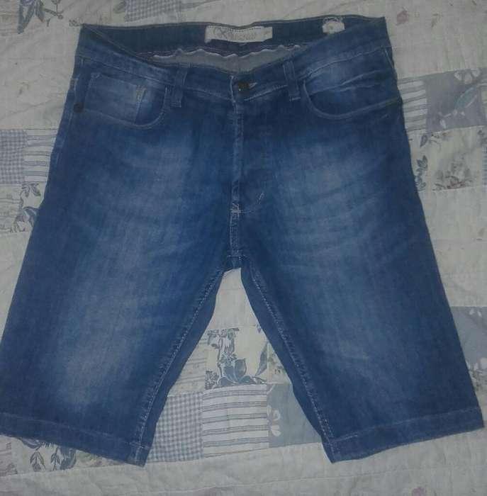 Bermudas Jeans Hombres