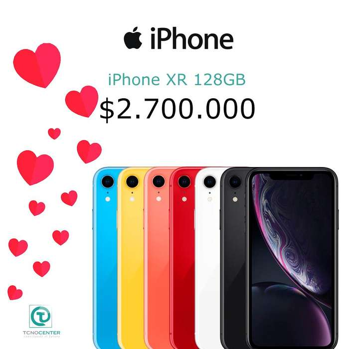 iPhone XR 128GB, GARANTÍA 1 AÑO DIRECTA Apple, TIENDA FÍSICA, nuevos, sellados, libres. Los Esperamos.
