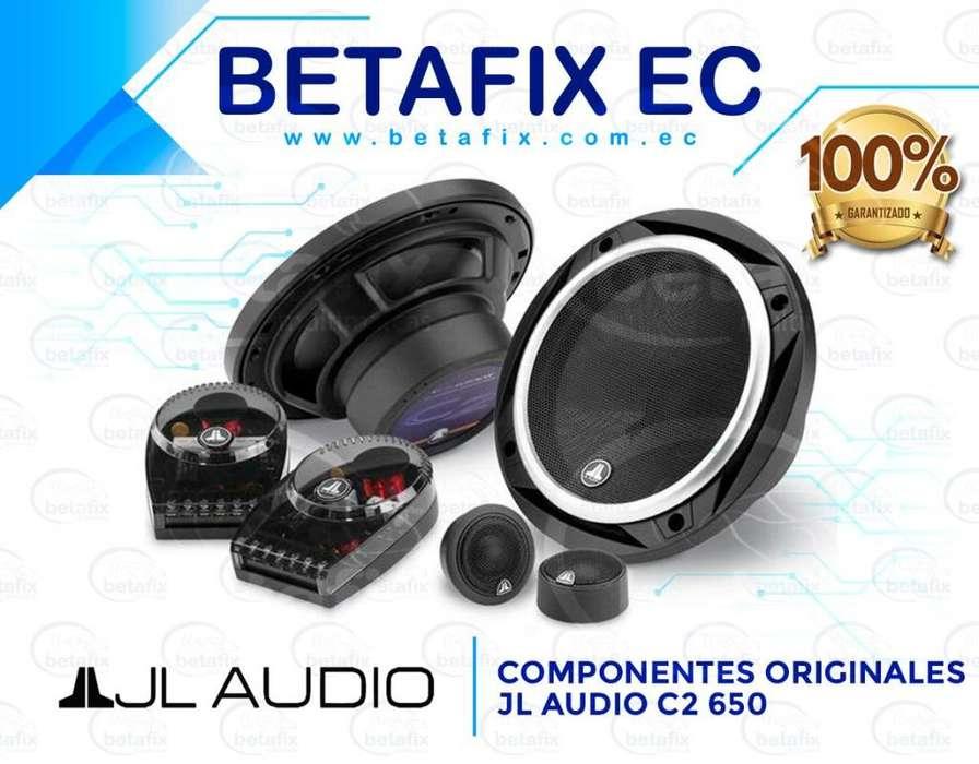 COMPONENTES ORIGINALES JL AUDIO C2650 BETAFIX EC