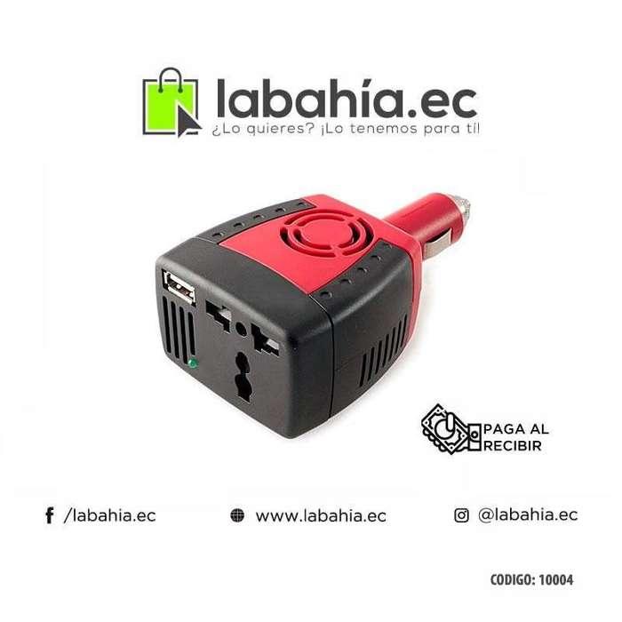 Inversor convertidor de corriente para Auto 150W 12V-110V