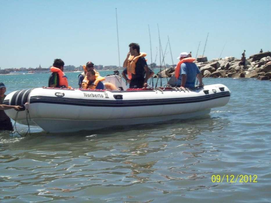 Pesca embarcado en Mar del Plata Norberto