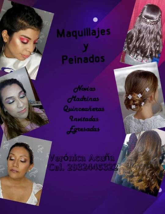 Maquillaje Social Y Peinados