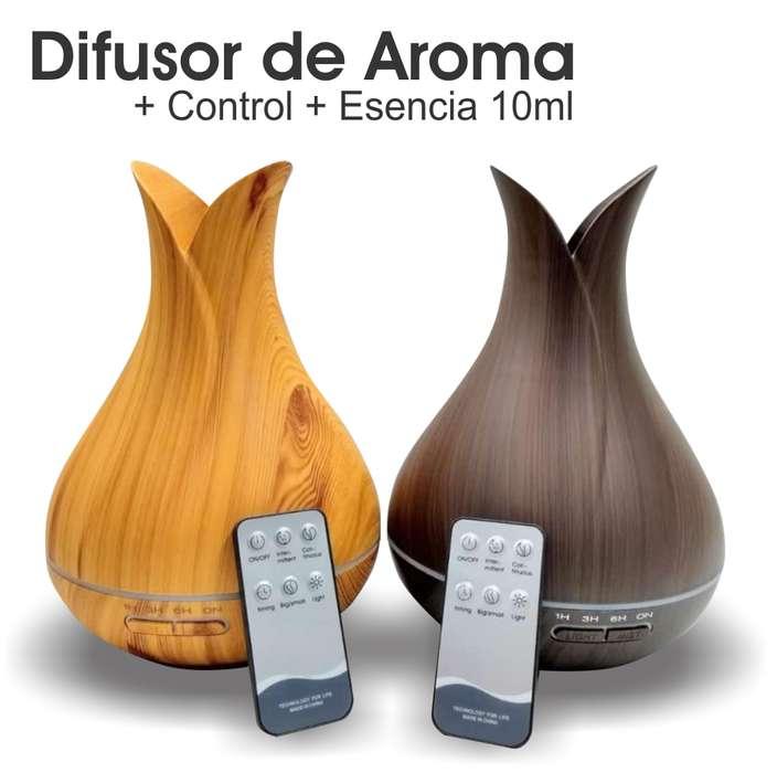 Difusor De Aceite Esencial Aromaterapia 400ml