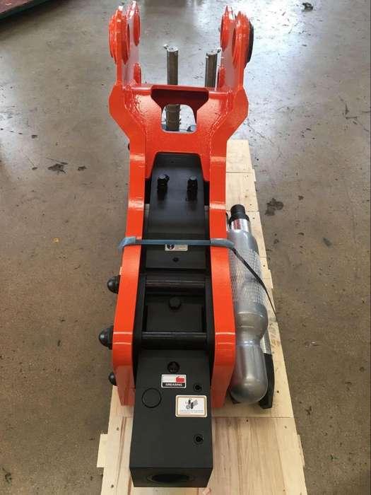 Martillo Hidraulico Retroexcavadora Cat 420, Case 580,J Deere 410