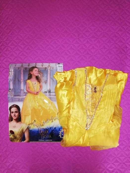 Vendo Disfraz Princesa Bella Usado