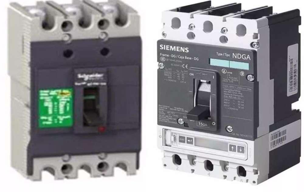 Interruptores Termomagneticos, contactores, pulsadores, horarios, diferenciales