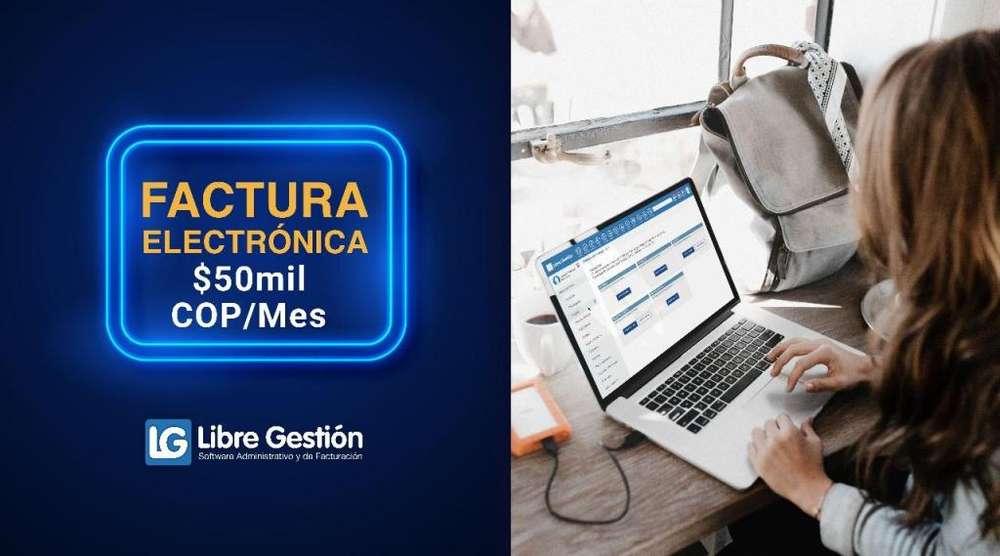 FACTURA ELECTRÓNICA ILIMITADA 50 MIL MENSUALES