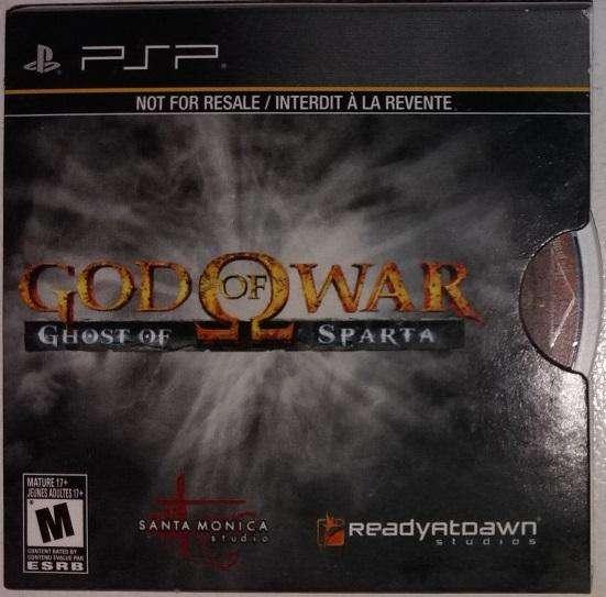 God of War: Ghost of Sparta UMD para PSP