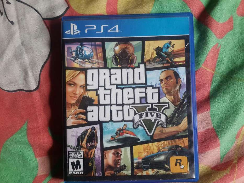 Grand Theft Auto 5 para Ps4