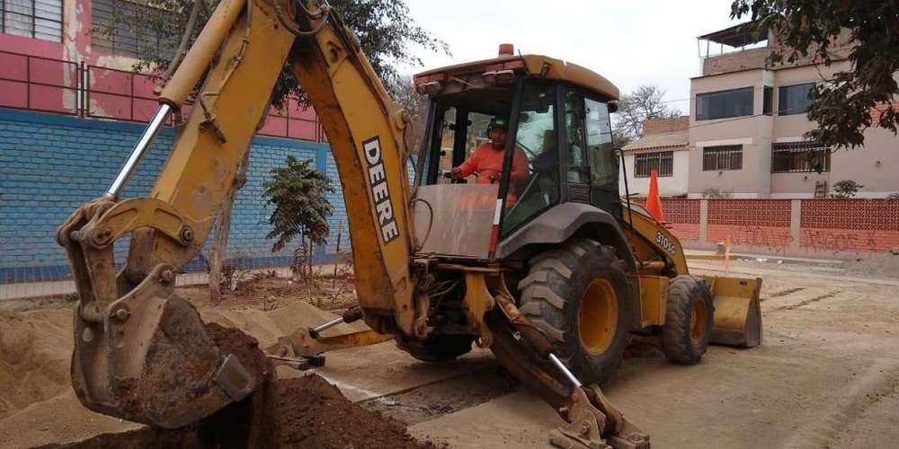 vendo Retro excavadora jhon deere 310sg
