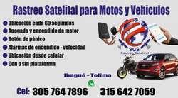 Rastreo y seguimiento satelital para vehiculos motos personas animales